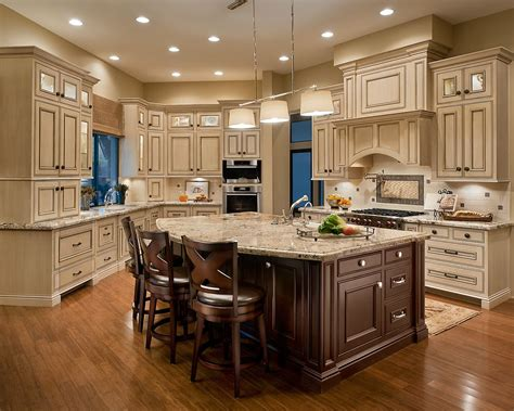 cream kitchen island 50 inspiring cream colored kitchen cabinets decor ideas