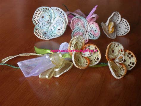 fiori per bomboniera bomboniera uncinetto fiore in cerchio agatauncinetto