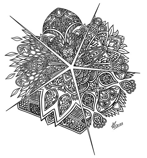 5 unique coloring pages for coloring books for 25