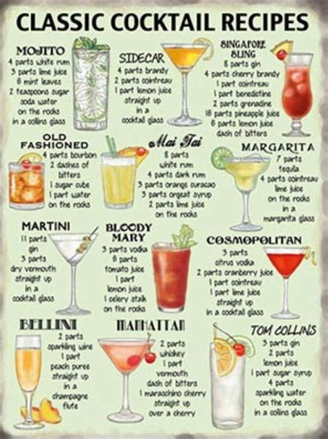 cocktail drinks names 17 best ideas about mocktail names on