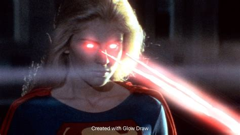 heat vision helen slater supergirl heat vision effect 3 by