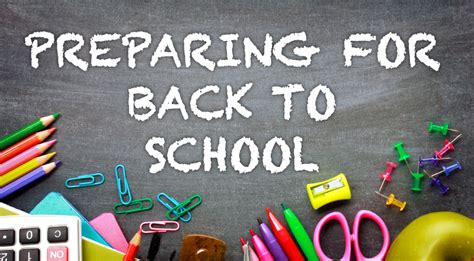 7 Ways To Prepare For Back To School by Mommycon Preparing For Back To School