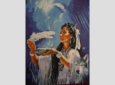 Native American Art Paintings spirit animals | native ... Indian Spirit