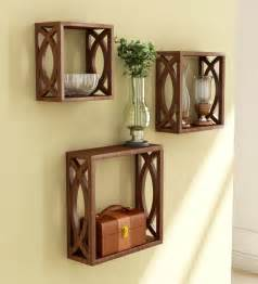 Home Interiors Online Catalog Stylish Wall Shelves Set Of 3 By Home Sparkle Online