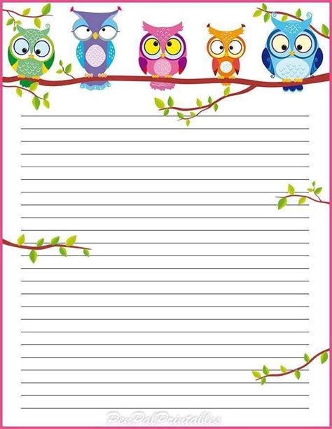 printable paper owl 17 best images about clip art on pinterest file folder