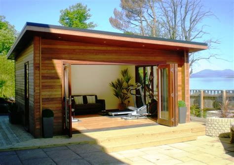 garden rooms outdoor offices my home rocks - Contemporary Outdoor Rooms