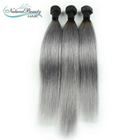 grey human hair extensions best quality grey human hair extensions malaysian