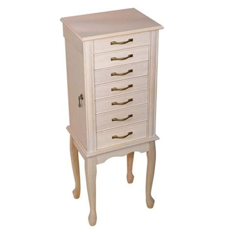 white standing jewelry armoire armoire extraordinary floor standing jewelry armoire