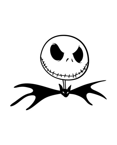 imagenes de jack esqueletor pegatina jack skellington pajarita adhesivosnatos