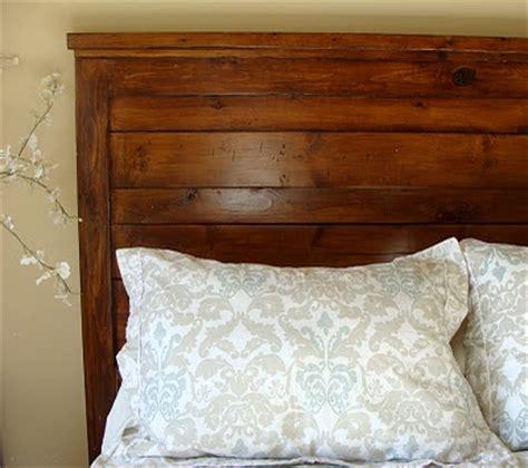 homes wood headboards plans