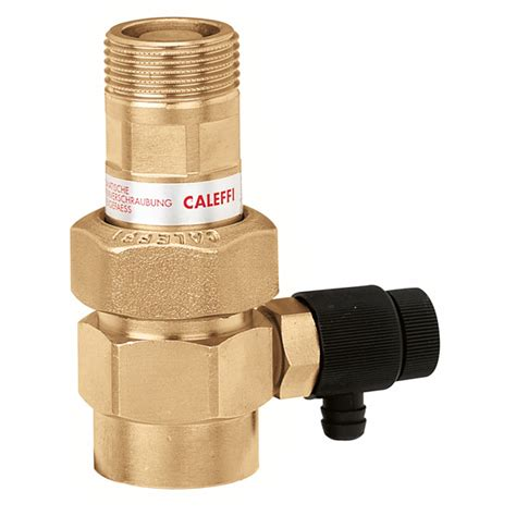 vasi espansione caleffi 558 rubinetto automatico per vasi d espansione con