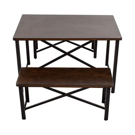 bar bench furniture 76 off bob s furniture bob s furniture boomerang bar