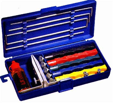 lansky sharpening system lansky lkclx ls2 deluxe knife sharpening system