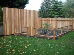 gallery for gt garden fence ideas