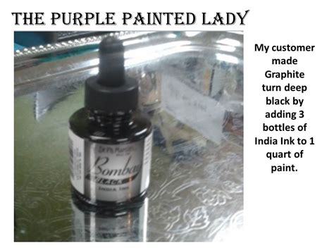 chalkboard paint india india ink black the purple painted