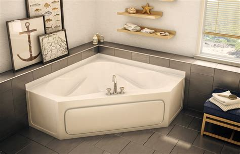 no bathtub in house gt 6060ap corner bathtub aker by maax