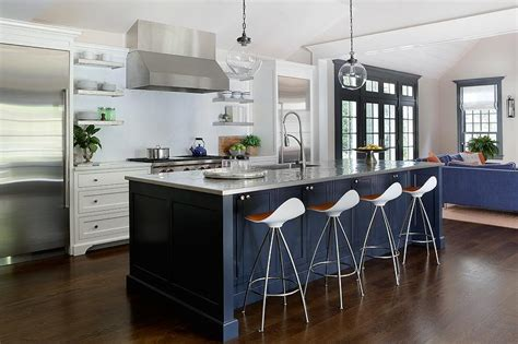 blue kitchen islands navy blue kitchen island quicua