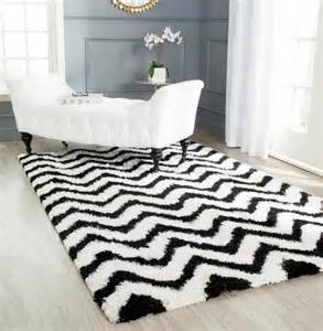 Modern Black And White Rug Captivating Gray Living Room Flooring Decor By Pretty Soft Black White Rug Design Idea And