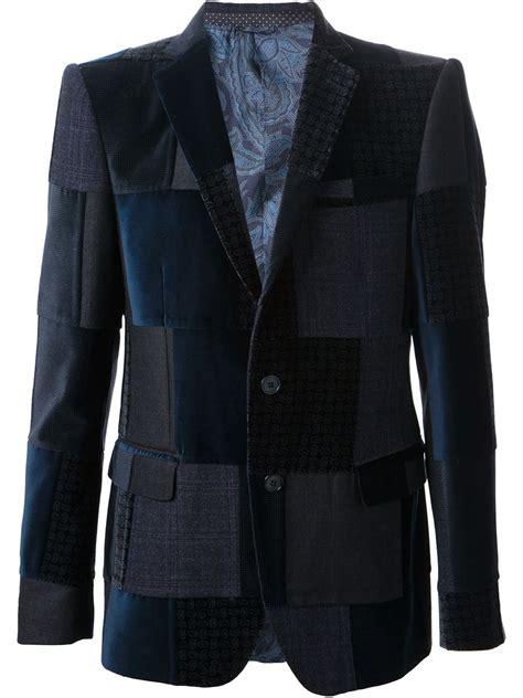 Patchwork Blazer - etro patchwork blazer shive magazine