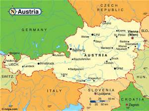 Vienna World Map austria maps printable maps of austria for download