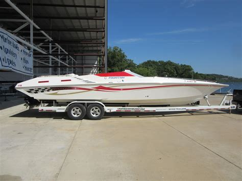 boat graphics lake of the ozarks 2004 fountain 35 executioner power boat for sale www