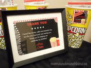 Mini Vases Drive In Movie Birthday Party Moms Amp Munchkins