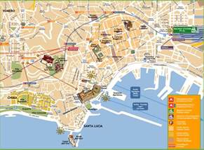 Napoli Italy Map by City Map Of Naples Italy