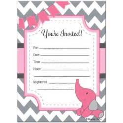 blank baby shower invitations theruntime