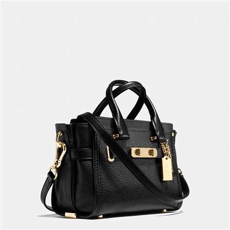 Coach Kelsey Small Gunmetal Original lyst coach swagger 20 in pebble leather in metallic