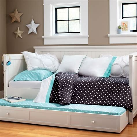 room and board daybed beadboard daybed trundle pbteen