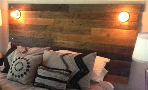 how to make a wood headboard how to make a diy headboard from recycled wood with custom