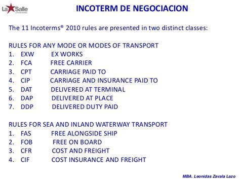 Mba Internship Cpt by Negocios Internacionales Exportacion Importacion
