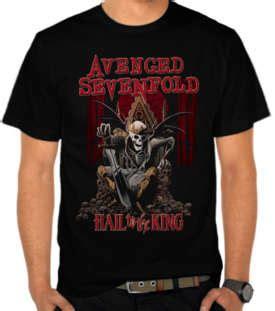 Kaos Avenged Sevenfold Black jual kaos distro beli t shirt murah satubaju