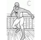 Dibujo Para Colorear Spiderman 01