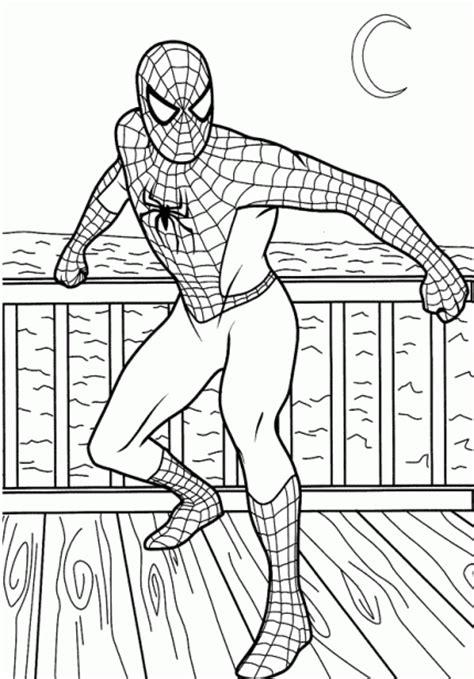 dibujos para colorear de spiderman dibujos de spiderman para colorear imagenes de spiderman