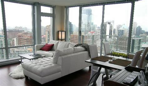 Appartments In Vancouver by Downtown Vancouver Furnished Apartment Rental At The Elan