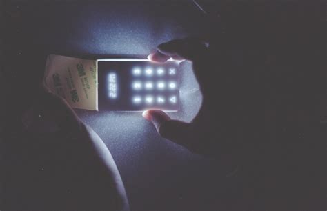 Light On Phone by The Light Phone Designed For Disconnecting Cool