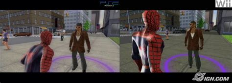 wii vs ps2 which has ign insider to spider 3 wii vs ps2