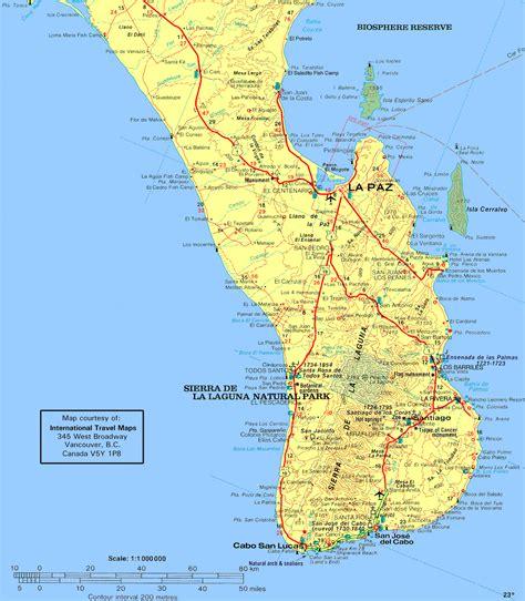 map of mexico baja baja travel guidebook more baja maps