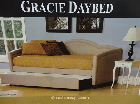 costco trundle bed hillsdale gracie twin fabric daybed