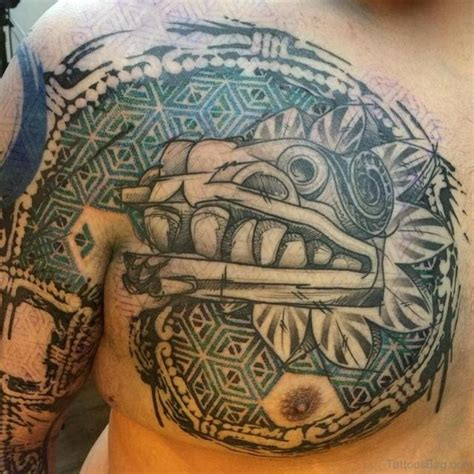 mexican aztec tattoos 50 traditional aztec tattoos for chest