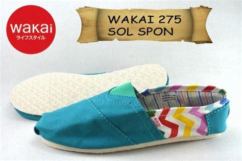 Sepatu Wakai 328 Sol Spon Grade Ori sepatu wakai cewek murah sol spon grade ori 275
