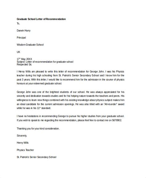 School Recommendation Letter Length Sle Letter Of Recommendation 20 Free Documents In Word Pdf