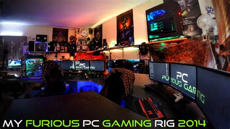 coolest pc rigs my furious pc gaming rig 2014 ultimate gamer setup