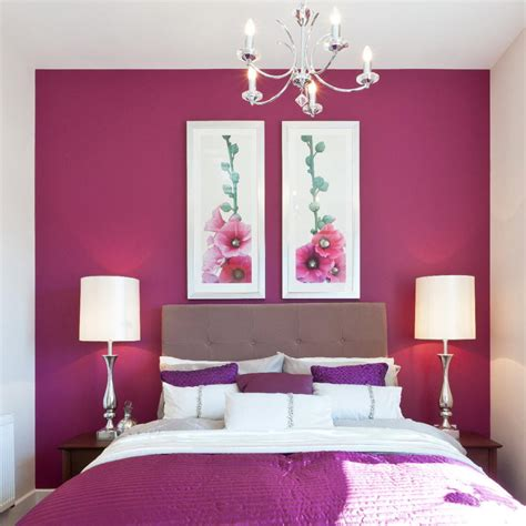 Pink Home Decor by Purple And Pink Bedroom Beautiful Pink Decoration