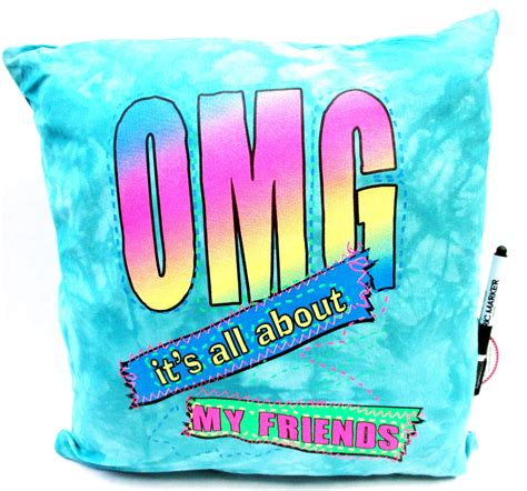 Autograph Pillow by Bunk Junk Omg Autograph Pillow C Friends Sign Me