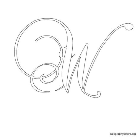 printable calligraphy stencils 7 best images of monogram letter stencils free printable