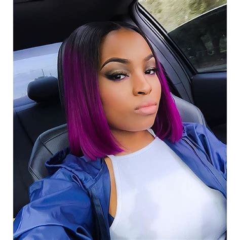 Black And Purple Hairstyles by Bob Haircut Black And Purple Hairstyles