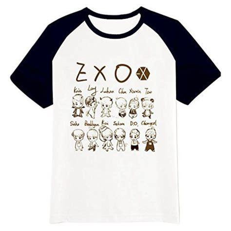 Casing Handphone Kpop Exo Sehun Jersey fanstown exo kpop logo black shoulder shirt exo m exo k beakhyun luhan http www dp