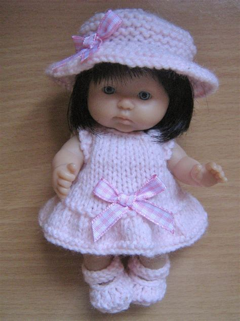pattern knitting doll knitting pattern for 5 berenguer dolls clothes